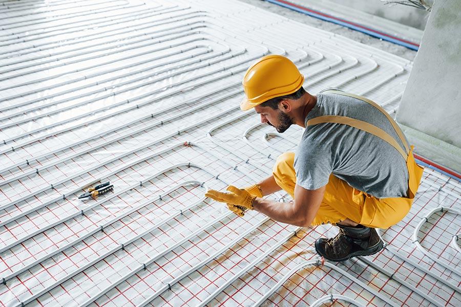 Instalación de suelo radiante eléctrico en tu hogar